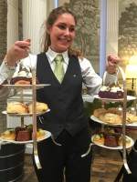 Afternoon tea at The Balmoral in Edinburgh. Copyright Amy Laughinghouse