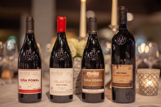 A line-up of some of Vina Pomal's greatest hits, including the new Vina Pomal Compromiso. @MariedeChesse