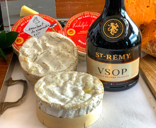 Camembert with brandy