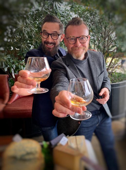 Spirits experts Neil Ridley and Joel Harrison