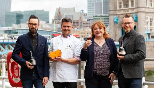 Neil Ridley, Rodolphe Le Meunier, Cécile Roudaut, and Joel Harrison. Photo courtesy Clementine Communications.