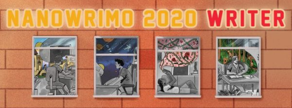 Official NaNoWriMo 2020 banner