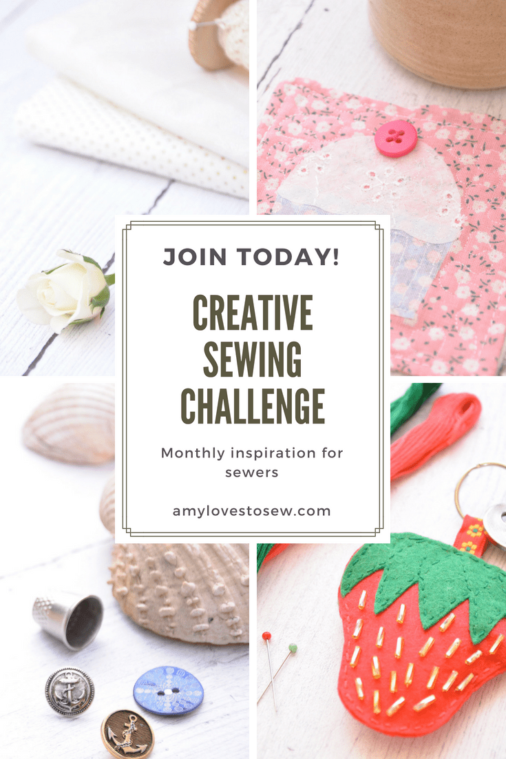 Creative Sewing Challenge July