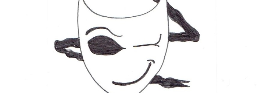 I Know You Like a Murder fanart, chapter header mask