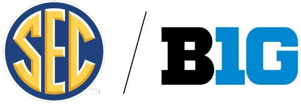 SEC BIG 10 Logos