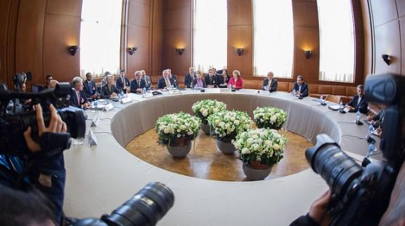 The P5+1 nuclear talks in Geneva on November 7.  Flickr photo by U.S. Mission Geneva.