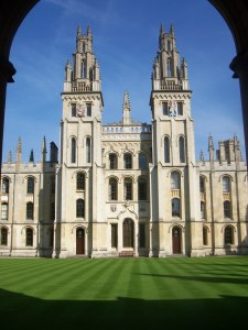 All Souls College at Oxford University, photographed in 2008