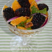 Blackberry Citrus Salad