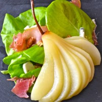 Anniversary Pear and Prosciutto Salad