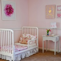 A Garden Styled Little Girl's Room