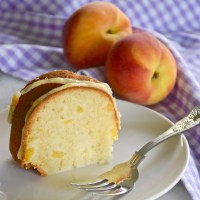 Peachy Pound Cake