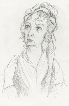 """Actress Ruth Sheen, one of my favorites, as Sarah Danby in Mike Leigh's """"Mr. Turner."""" 2015"""