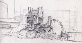 Building Demolition 3, 1993