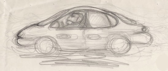 In a Car at Midday, 2013