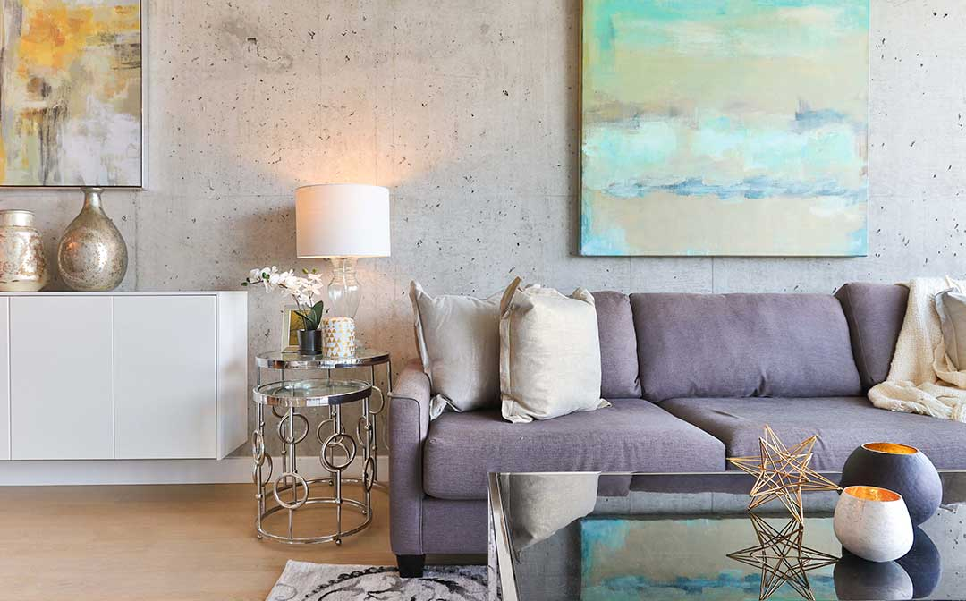 modern-living-room mountain home