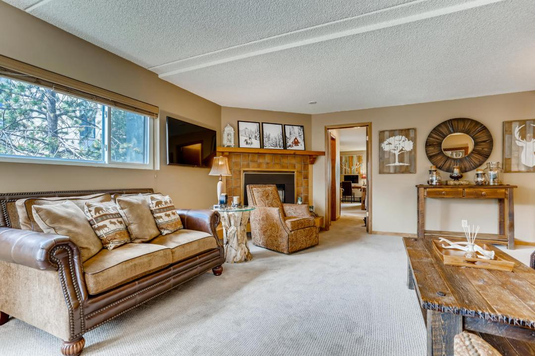 Copper Mountain Condo for Sale West Lake Lodge Living Area