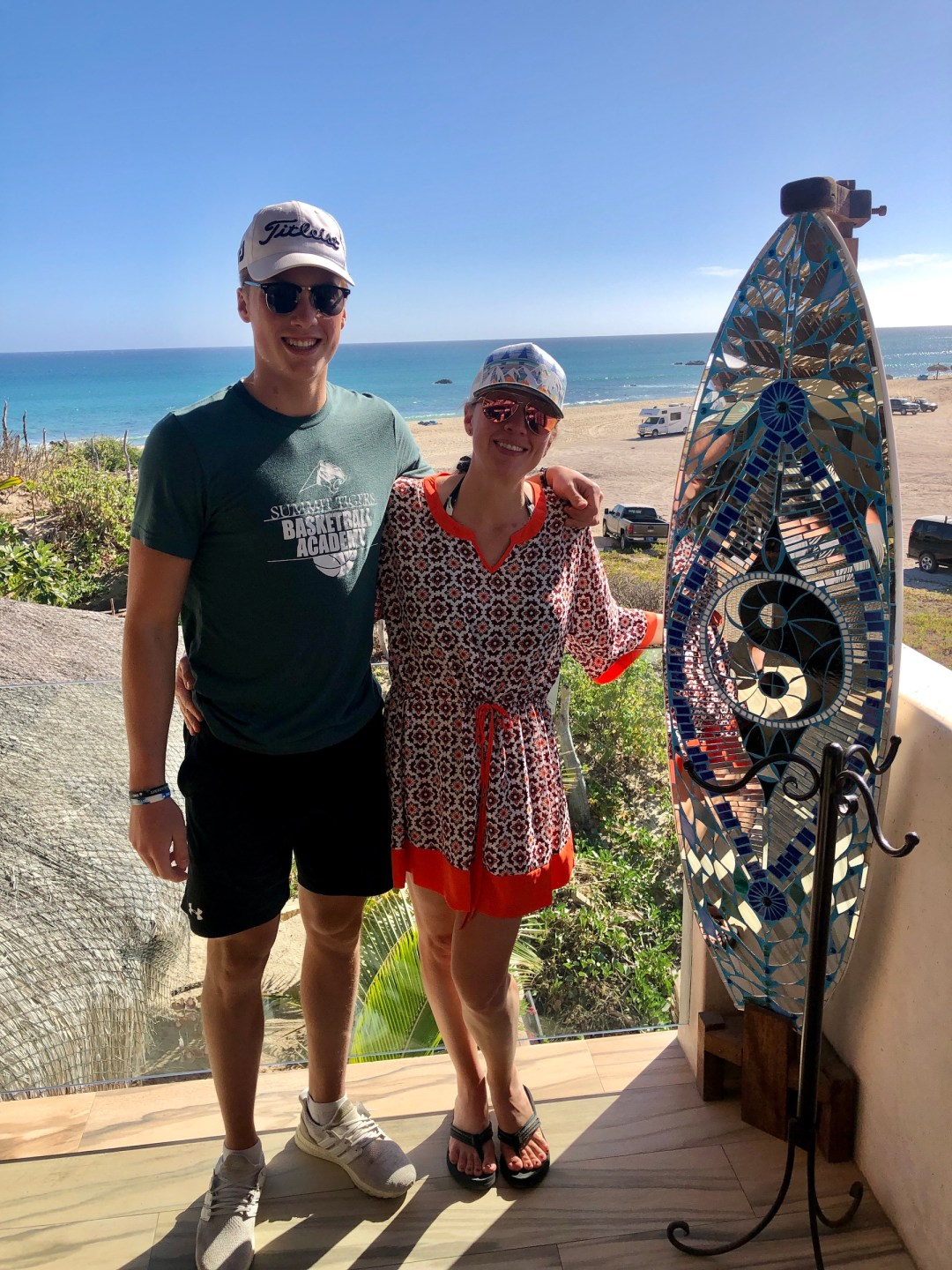amy and tyler in cabo