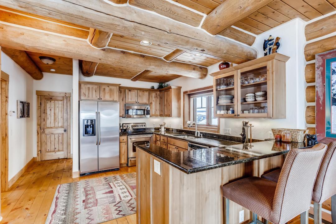 breckenridge real estate kitchen