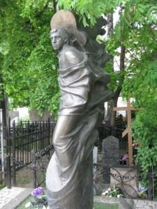 Vladimir Vysotsky's grave - Moscow