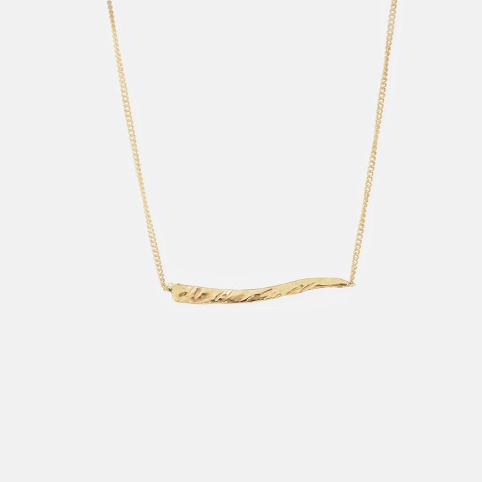 Doric-Necklace-Gold