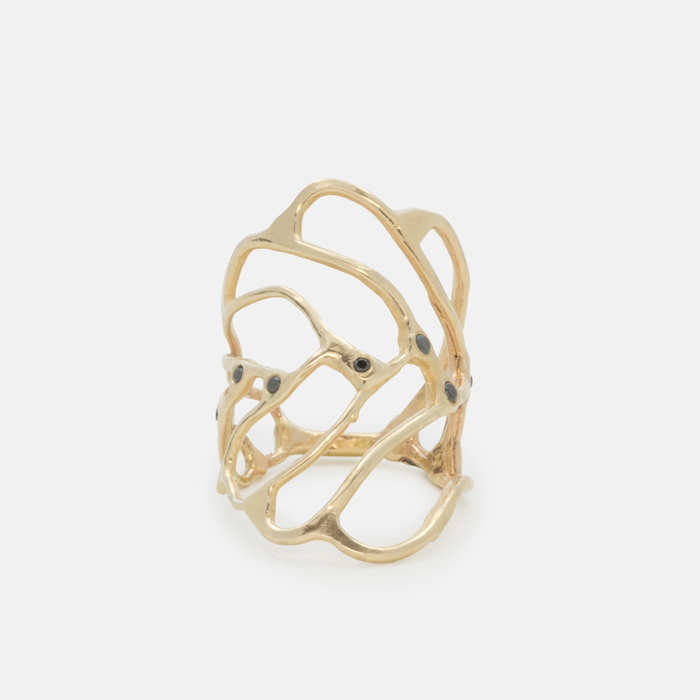 platinum leaf gold jewellery ring yellow rings rose