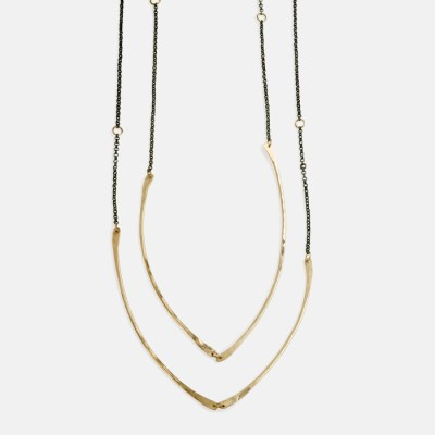 Amy Nordstrom - Gold Nave Necklace