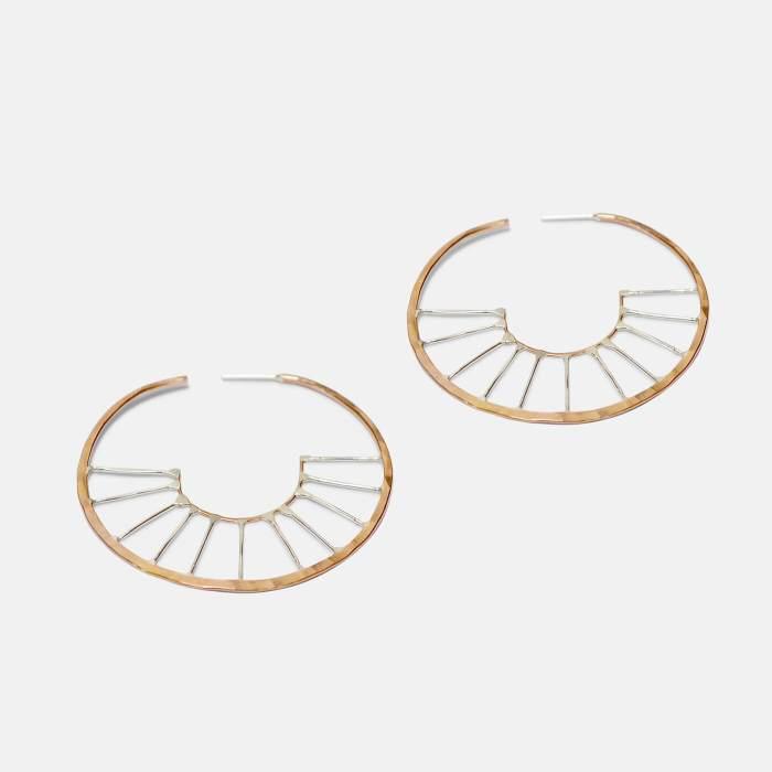 Aztec Hoops - Amy Nordstrom Fine Jewelry
