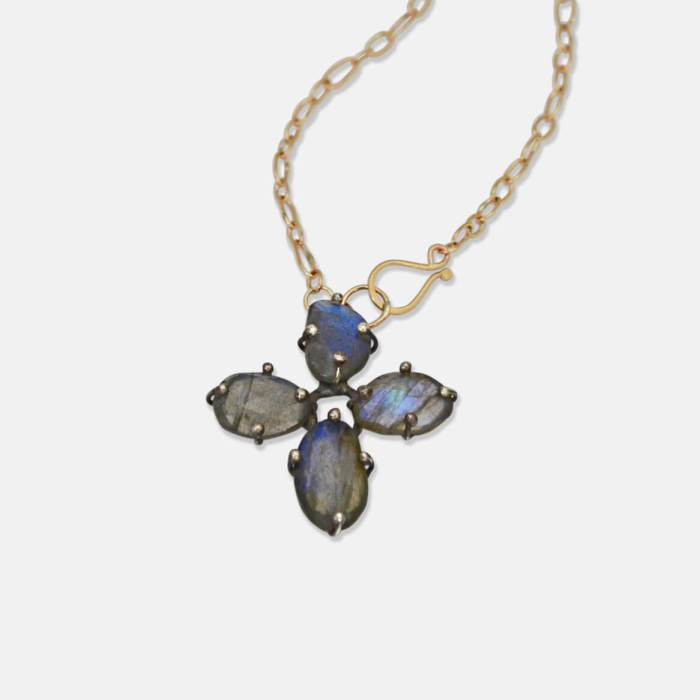 Labradorite Clover - Amy Nordstrom Fine Jewelry
