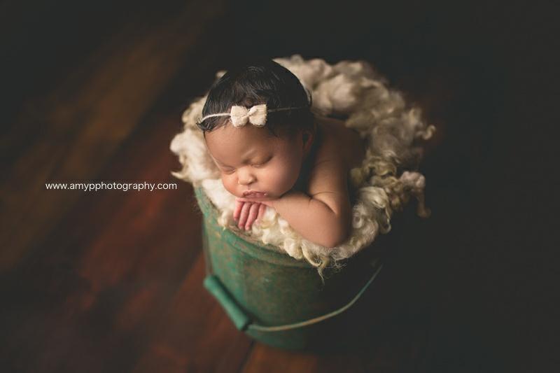 newborn girl, baby, studio, newborn photographer