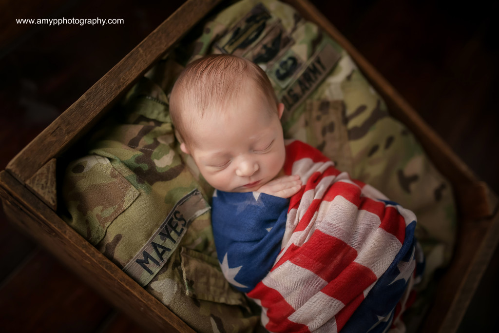 MayesNewborn-veteran's day
