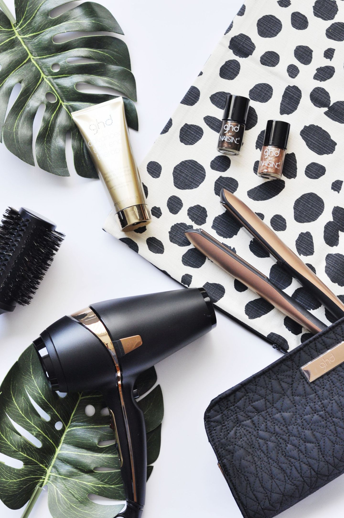 Bubbles and Blowdrys with ghd