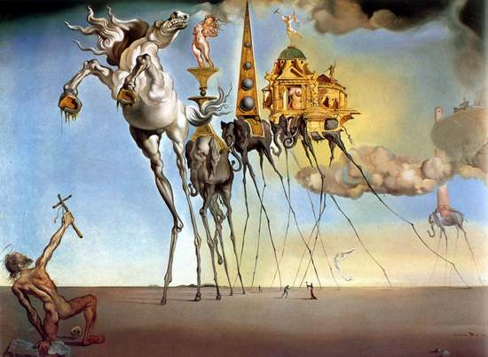 Salvador Dali must've had some messed-up dreams, too.