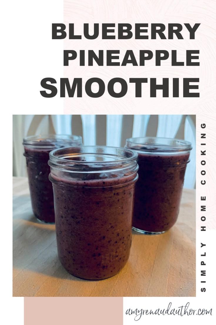 Blueberry Pineapple Smoothie Recipe