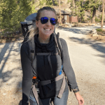 The start of our 2020 backpacking trip at Alice-Toxaway Loop