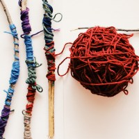 Stick and Yarn Art