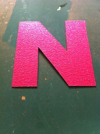 A Glittery 'N'