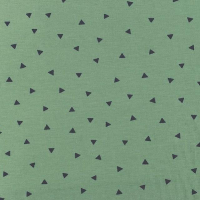 Katoen - Triangel fijn OUDGROEN