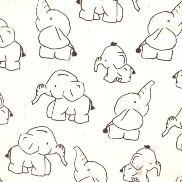 Katoen - Qjutie olifantjes