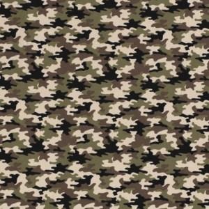 Tricot - Camouflage Khaki