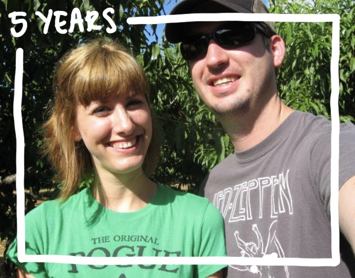 Five years of marriage photo