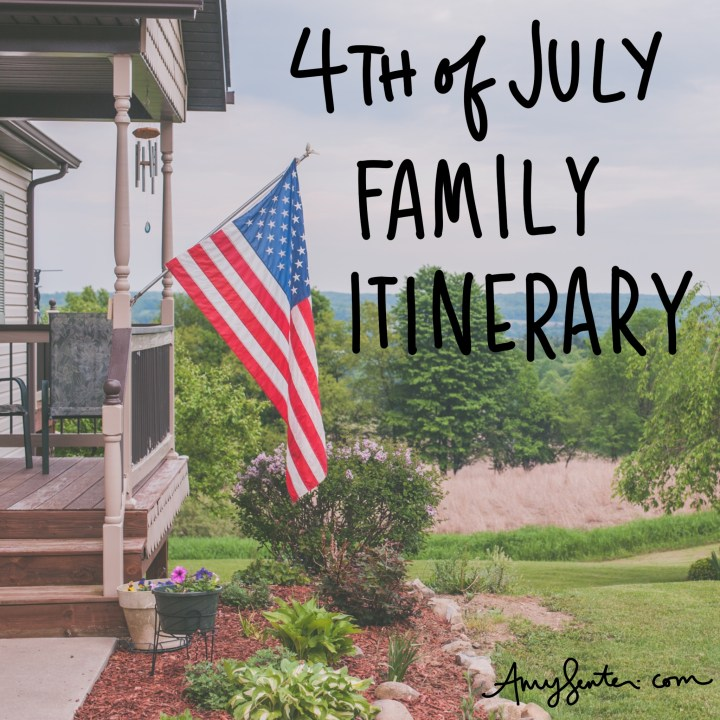 Celebrate the 4th of July as a Family This Year