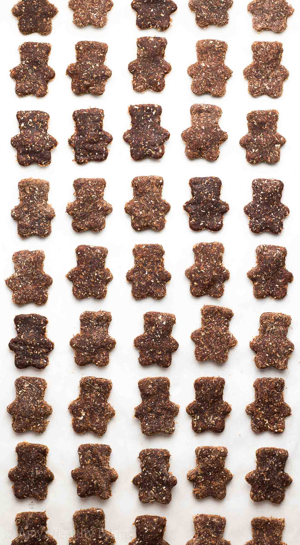 Healthy Homemade Chocolate Teddy Grahams