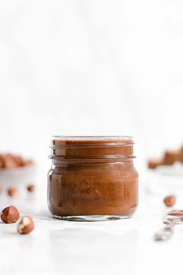 ULTIMATE Best Easy Healthy Homemade Sugar Free Vegan Nutella