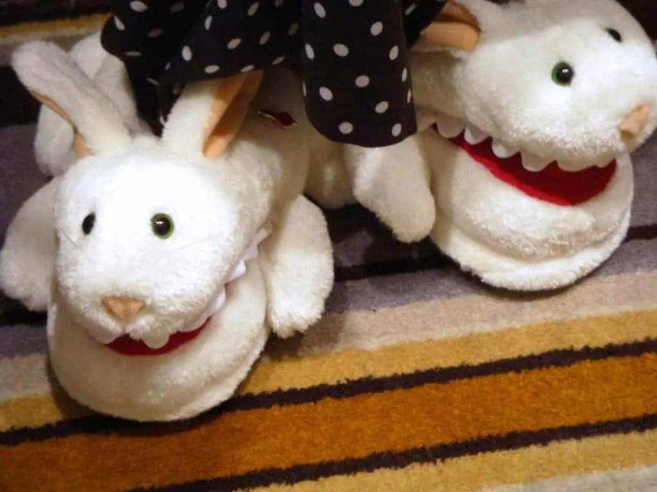 BunnySlippersWithTeeth