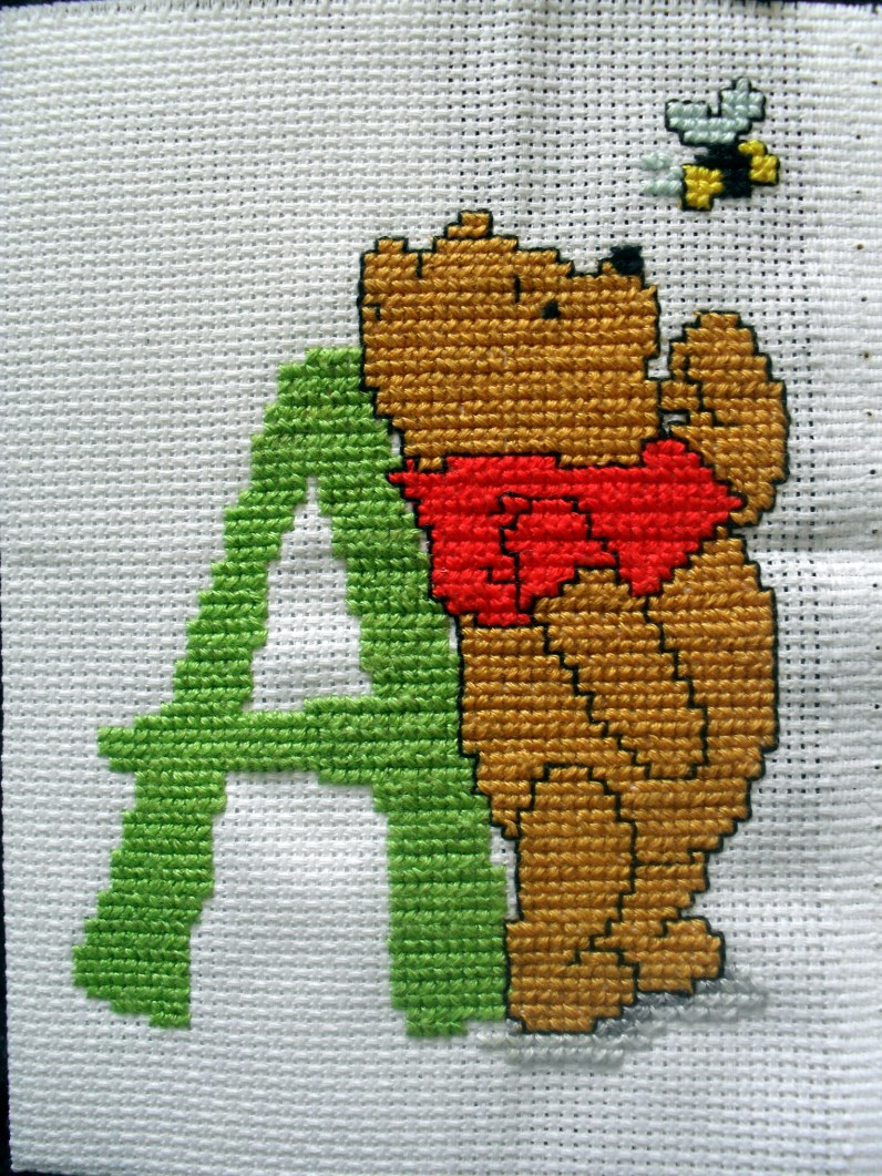 Winnie the Pooh 'A'