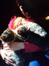 Raffey loves her cats