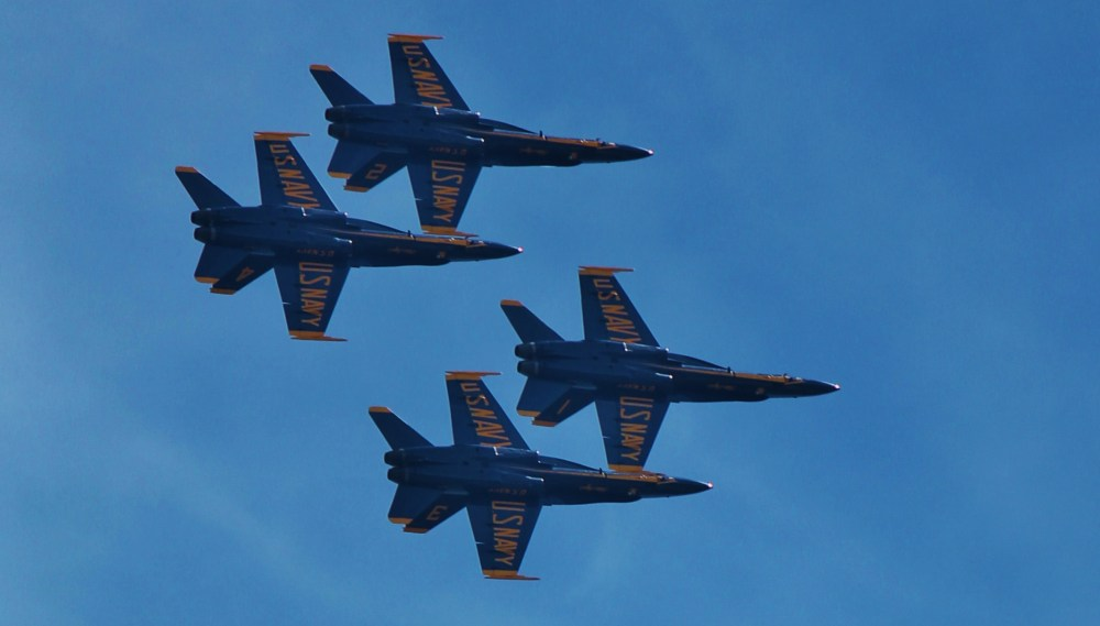 August 5th, 2012, the Blue Angels (1/6)
