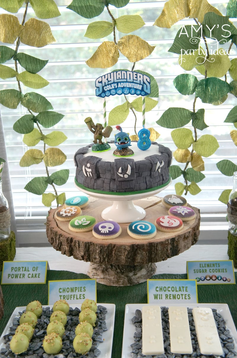Skylanders Adventure Party Amy S Party Ideas