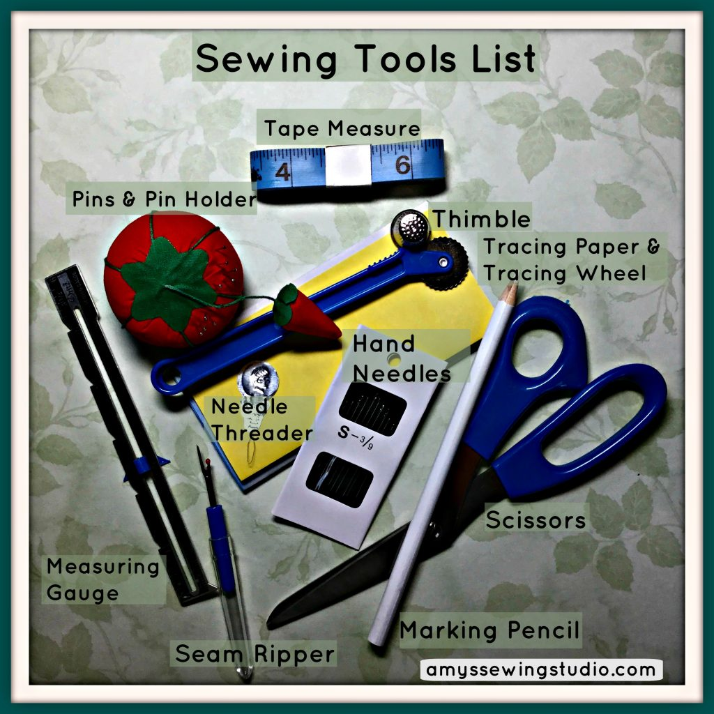 A Beginner S Basic Sewing Tools List With Pictures