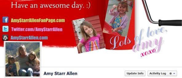 facebook timeline slicer pro amy starr allen